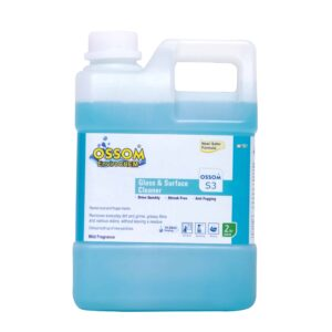 OSSOM® S3 Glass and Surface Cleaner (5Ltrs Pack)