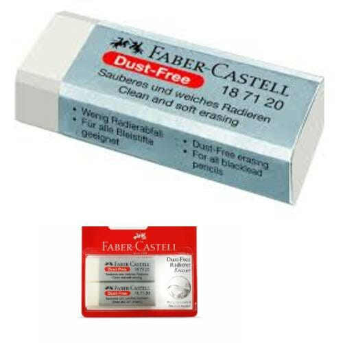 Faber-Castell Dust-Free Erasers -Pack Of 20
