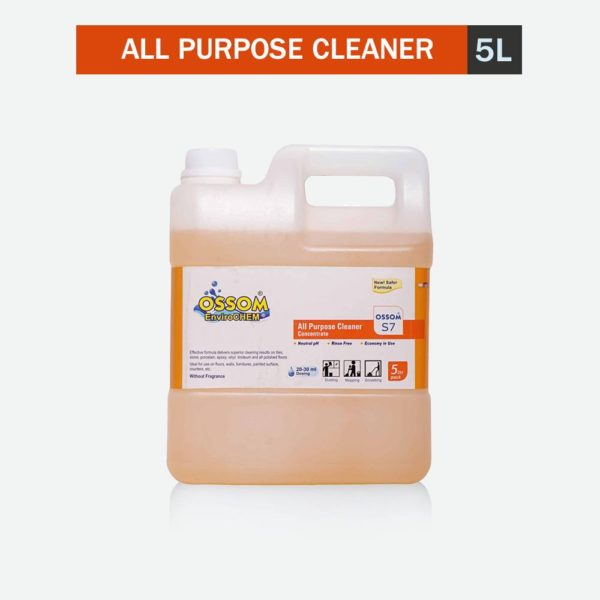Ossom® S7 All Purpose Cleaner Concentrate (5Ltr Pack)