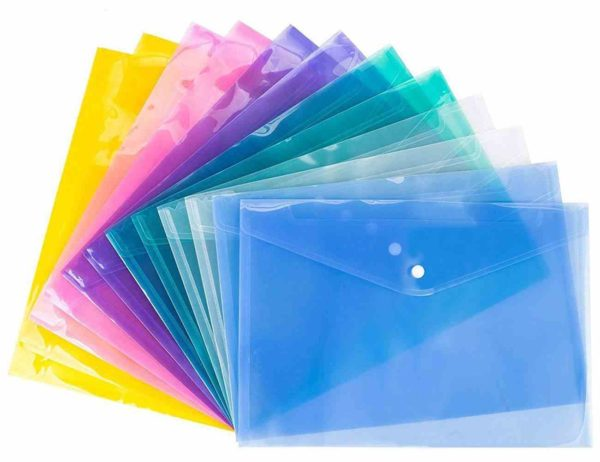 Document-Folder-12-Pcs-Pack-Document-Plastic-Folder