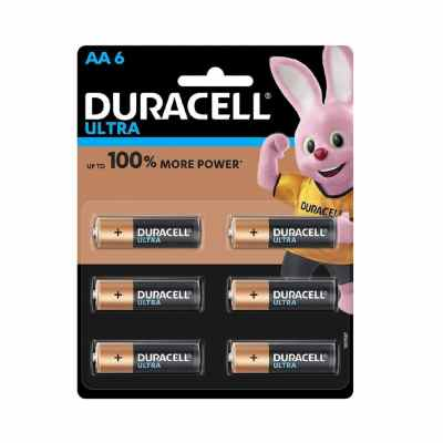 Duracell Ultra Power | Soluble Aa Batteries
