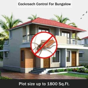 Pest Control Service for Cockroach Control in Bungalows