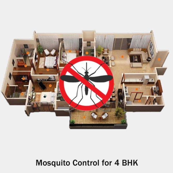 Mosquito Treatment Service For 4 Bhk