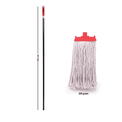 Springmop Smart Wet Mop Set - Ms150-300, Cut Ends, Red Code.