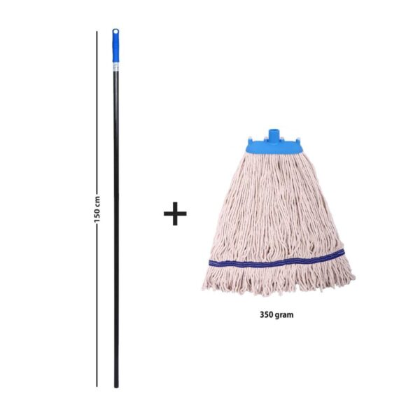 Wet Mop with Reusable Pad