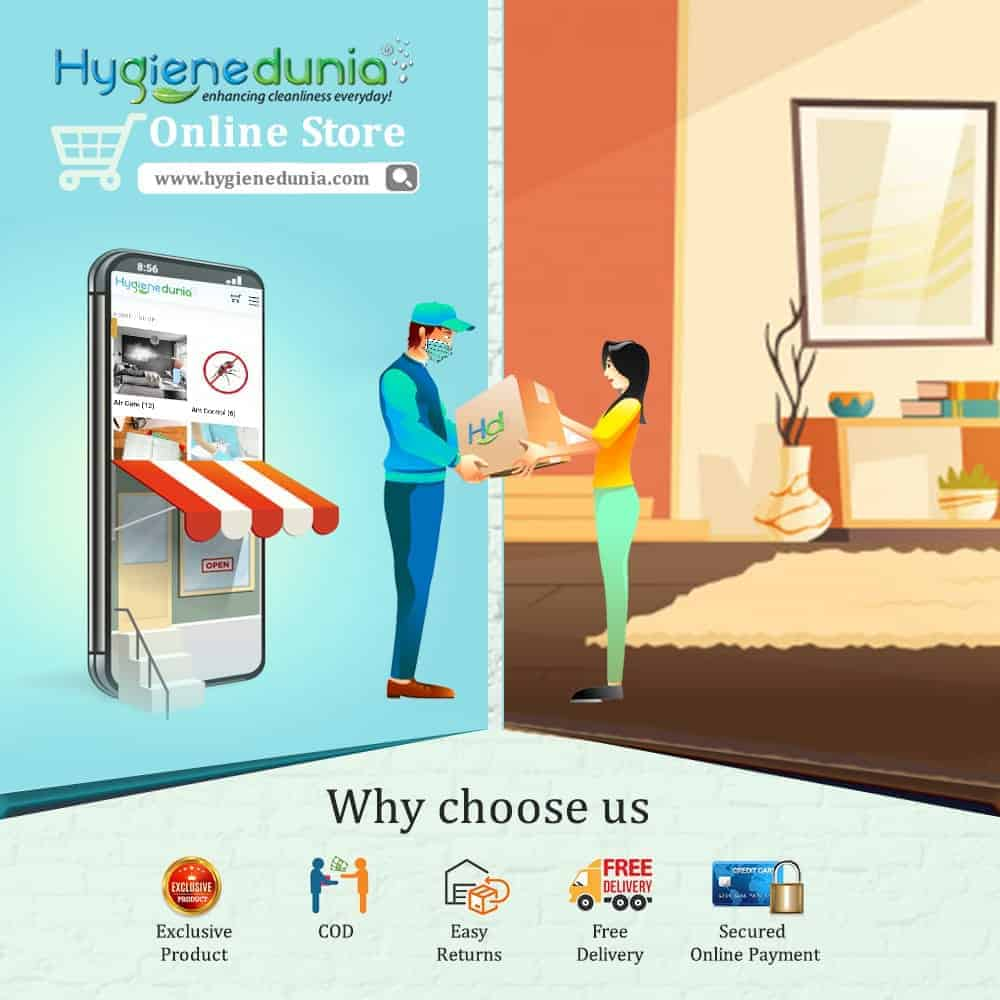 Online Shopping At Hygiene Dunia
