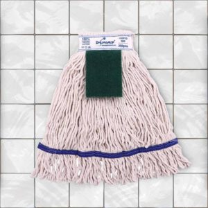 Mop Refill with Scrub Pad | Buy SpringMop® PRO+ Cotton | Looped, 350gm