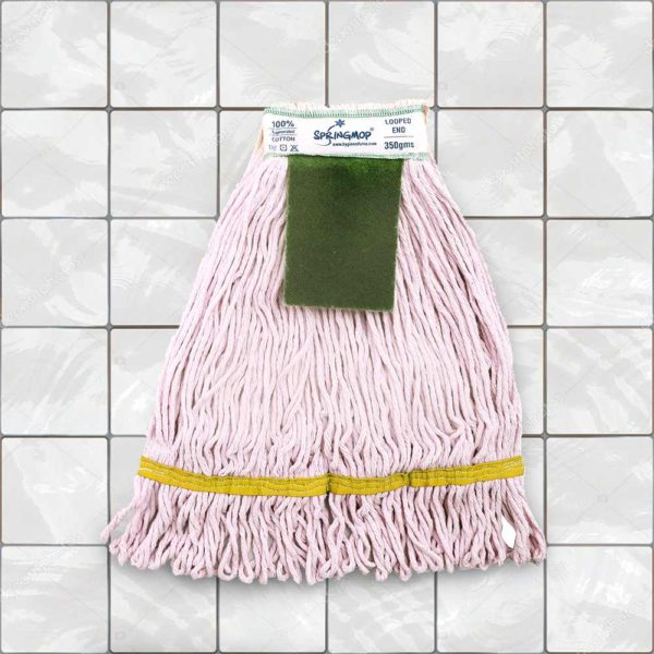 Wet Mop With Scrub Pad