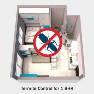 Commercial Termite Control for 1 BHK