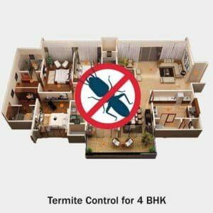 Termite Control for 4 BHK