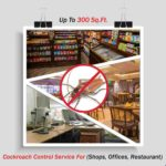 Cockroach Control For Offices | Shops | Restaurant | Up To 300 Sq. Ft. Area