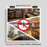 Mosquito Treatment Service For Shops Offices Restaurant Up To 5000 Sq. Ft. Area