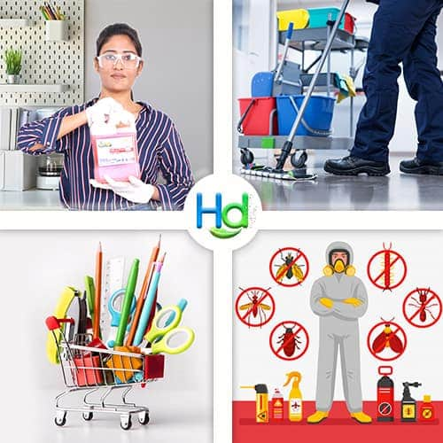 About Hygiene Dunia Image Collage Our 04 Categories With Hd Logo 1