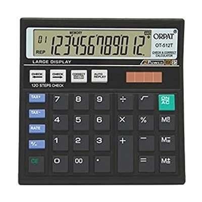 Electronic Calculator   Orpat OT 512