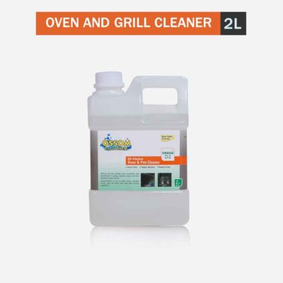 Ossom D2 - HD Alkaline Oven & Pan Cleaner grill cleaner degreaser