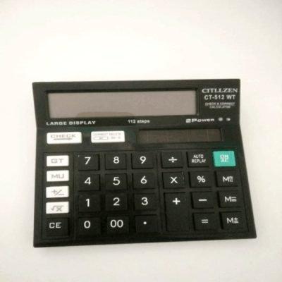 Citizen Calculator | CT - 512 Calculator