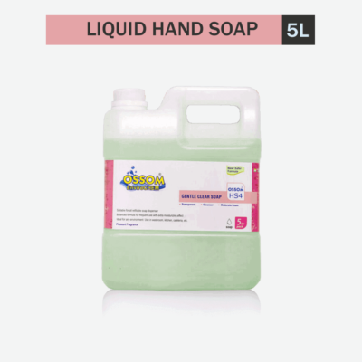 Ossom HS4 - Gentle Clear Soap | Green, Hand Wash