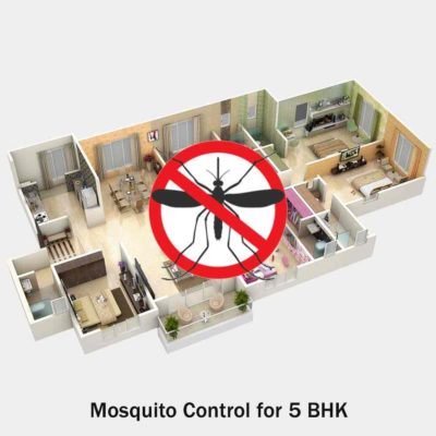 Mosquito Pest Control for 5 BHK
