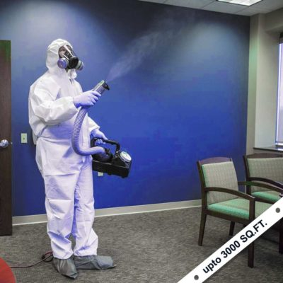 Sanitizing Spray Services Up To 3000 Sq. Ft.