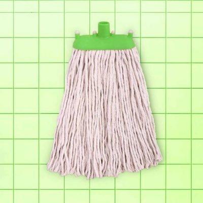 SpringMop Smart Wet Mop Refill - Cut End, 300gms, Green Code.
