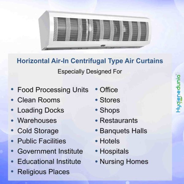 """60"""" Air Curtain Industrial Magnetic Sensors cost included Défense 1500"""