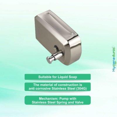 1000-SS Soap Dispenser V-Shape use for Soap and Gel Hand Sanitizer OSSOM®