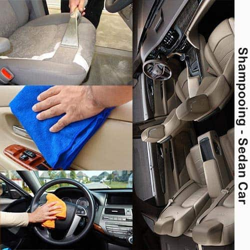 Car Upholstery Cleaning Service forSedan Cars